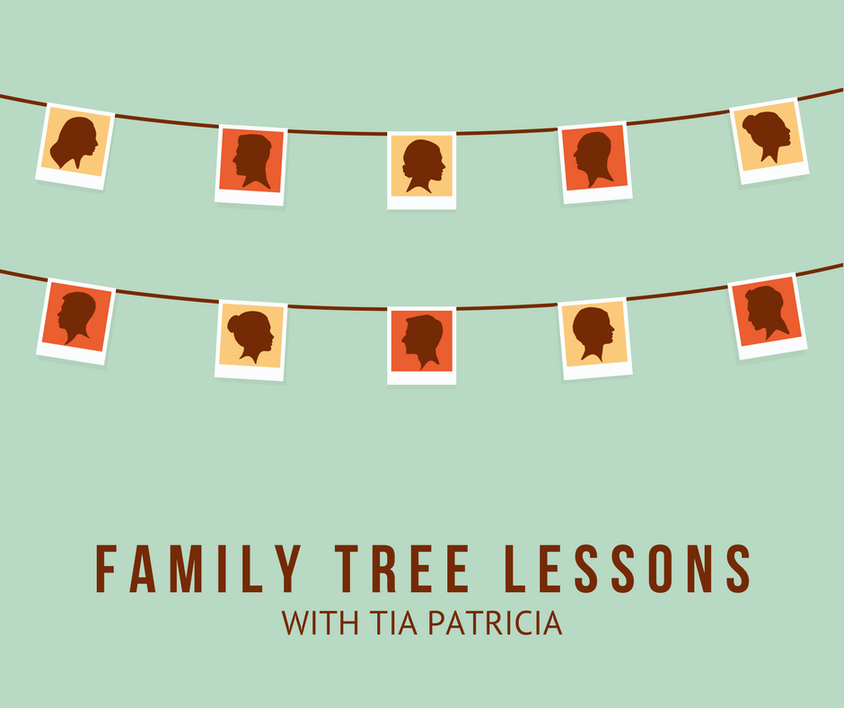 family tree lesson tia patricia