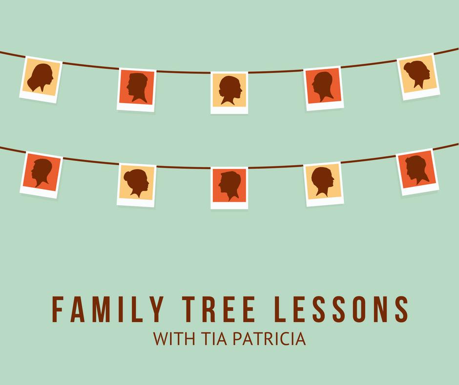 family tree lesson tia patricia
